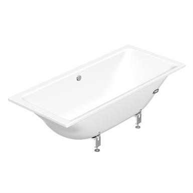 Built in bathtub duo 1800x800 6830 gustavsberg for Built in tub dimensions
