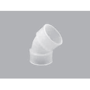 45° Elbow - Whiteline PVDF Socket Fusion (Orion) | Powered by BIMobject