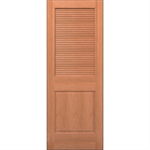 Wood Louver Door - Interior Residential or Commercial with Fire Options - K7320