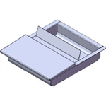 ARMORTEX® Deal Tray Flip Lid RMDT 1416