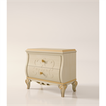 2 drawers nightstand with relief