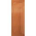 Arched 1-Panel Wood Door - Interior Commercial / Residential with Fire Options - A6000