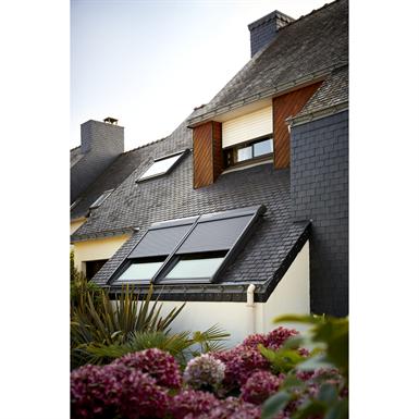 fen tre de toit rotation finition bois massif ggl velux fr objets bim gratuits pour. Black Bedroom Furniture Sets. Home Design Ideas