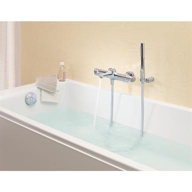 Aleo mitigeur thermostatique bain douche sur gorge jacob delafon objets bim gratuits pour - Mitigeur bain douche sur gorge ...