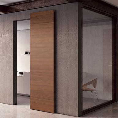 fila porte coulissante en applique barausse objets bim. Black Bedroom Furniture Sets. Home Design Ideas