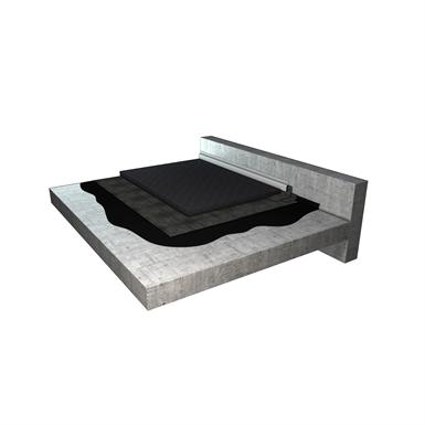 toiture terrasse accessible parking v hicule l ger syst me d 39 tanch it derbigum objets bim. Black Bedroom Furniture Sets. Home Design Ideas