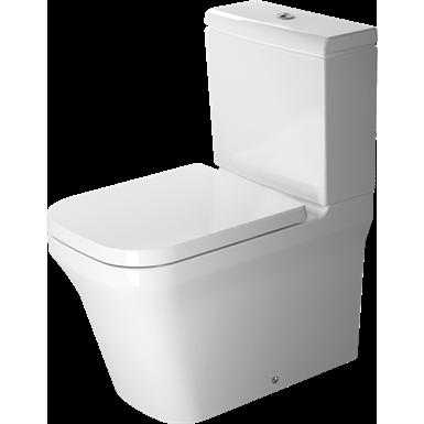 p3 comforts toilet close coupled duravit rimless 216709 duravit objets bim gratuits pour. Black Bedroom Furniture Sets. Home Design Ideas