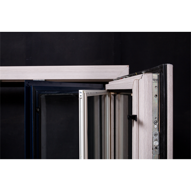 Porte fen tre enr 1 vantail bois alu ridoret objets bim gratuits pour revit bimobject - Porte fenetre 1 vantail ...