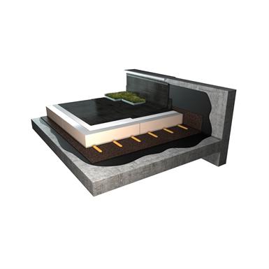 toiture terrasse v g talis e inaccessible syst me d 39 tanch it derbigum objets bim gratuits. Black Bedroom Furniture Sets. Home Design Ideas
