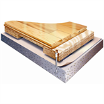 Action ProAir AR - EN/DIN Certified Anchored Laminated Wide Body Sleeper Floor System