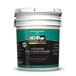 BEHR PREMIUM PLUS® Exterior Semi-Gloss Enamel No. 5050 Paint