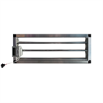 Motorized rectangular duct damper_CPRC