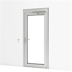 Exterior Door w/ Escape Route Terminal