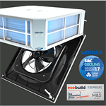Artus Hybrid Fan Coil Unit 1.9 to 2.8kW 2 Pipe System