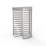 CLST Full Height Security Turnstile (Clear Curved Section)