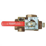 Model 1000 TESTanDRAIN® - Single Handle Ball Valve