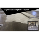 Acrylicon Levelling Screed System