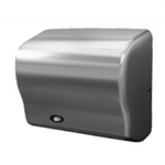 GX Series Automatic Hand Dryers, One-Piece Heavy Duty, Flame Retardant ABS Polymer With White Finish, Fixed Nozzle,  110-120, 208-240V, 1500W, 50/60Hz