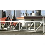 SafeGlide® Aluminum Twin Track Sliding Gate Systems (10' to 40')
