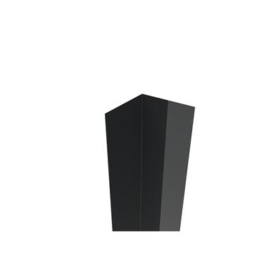 fipi internal corner profile for building with cassette facade