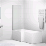 Forsa bath with shower wall