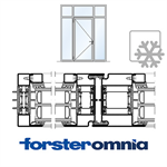 Curtain Wall Door Forster omnia single leaf