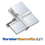 Sloped glazing Forster thermfix light