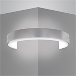 CYLINDRO II LED CORNER SCONCE WITH OPAL ACRYLIC DIFFUSER - B6743.LUX