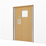 Timber Door, Select Hospital - Double