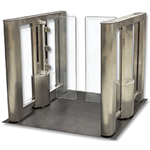 Optical Turnstile with Acrylic Barrier Gate