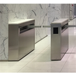 Optical Turnstile with Barrier Arm