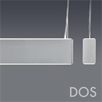 DOS LINEAR DIRECT/INDIRECT WHITE LED WITH OPAL ACRYLIC LENS