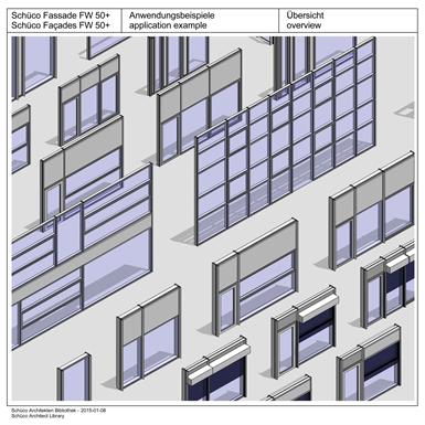 sch co fa ade fw 50 si sch co gratis bim objekt for. Black Bedroom Furniture Sets. Home Design Ideas