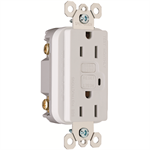 Specification Grade 15-20 AMP Duplex GFCI Receptacle