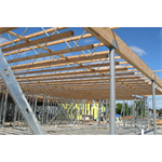 "Tapered Profile Open-Web Trusses, Red-L™, Red-W™, Red-S™, Red-M™ and Red-H™, 10' to 120' Lengths, 14"" to 72"" Depth"