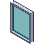 ARMORTEX® Fixed Hollow Metal Framing System