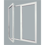 Teutonic™ Series Fixed Outswing Hinged Doors