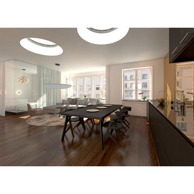 lamilux ci system glass element f100 round lamilux objetos bim gr tis para archicad revit. Black Bedroom Furniture Sets. Home Design Ideas
