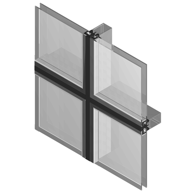 Mx Toggle Curtain Walling Technal Objetos Bim Gr 225 Tis