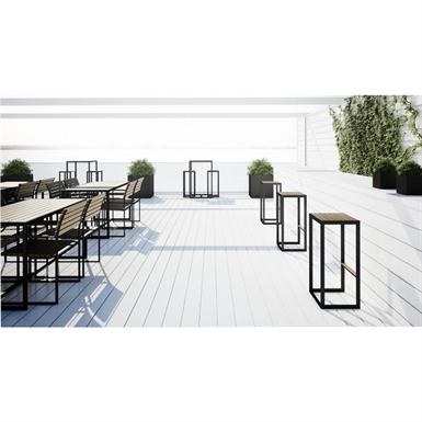Garden bar table r shults objetos bim gr tis para for Outdoor furniture revit