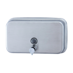 Inox soap dispenser classic range horizontal