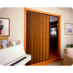 "Series 220 Commercial/Residential Accordion Door, Up to 8' 1"" Height, Up to 8' 0"" Width"
