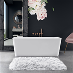 "VIBE 58"" x 38"" x 21"" - Therapeutic Bath - Freestanding"