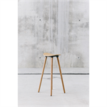 Coma Wood medium stool