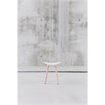 Coma Wood low stool
