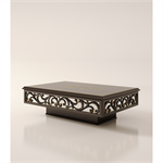 2 drawers rectangular coffee table