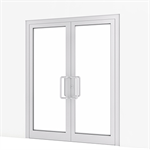 Entrance Door w/ Concealed Closer