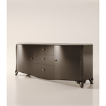 2 doors and 3 drawers sideboard without friezes
