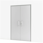 Double Door w/ Concealed Closer