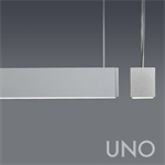 UNO LINEAR DIRECT WHITE LED WITH OPAL ACRYLIC LENS